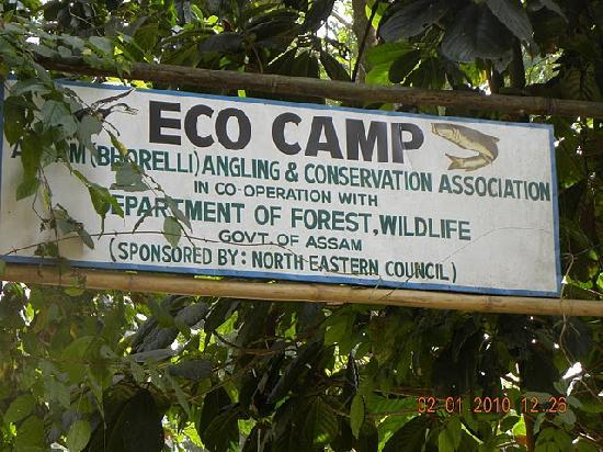Nameri Eco Camp: Camp Entrance