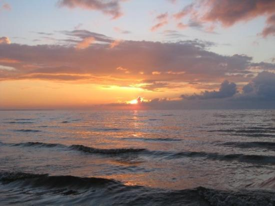 Sunset on the Baltic Sea, Jurmala