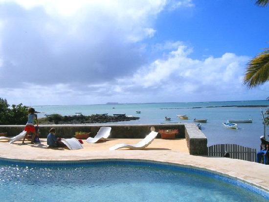 Grand Gaube: La piscine