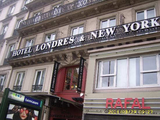presents hotel londres and new york paris france video of londres et new. Black Bedroom Furniture Sets. Home Design Ideas