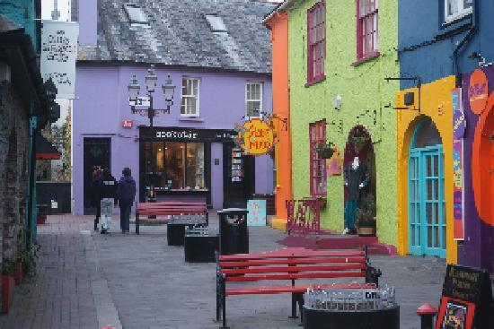 One of the many side streets in Kinsale