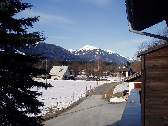 Hermagor, Austria: View from a balcony