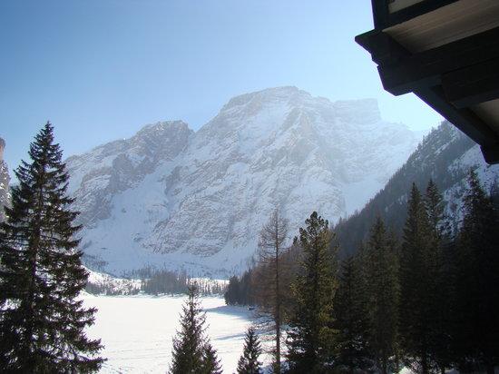 Hotel Lago di Braies: vista dalla camera