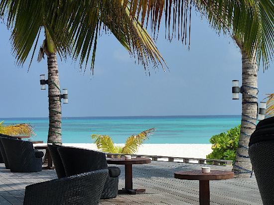 Kuredu Island Resort & Spa: Vue du Sangu Bar