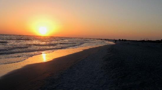 Siesta Key Beach Place: sunset at Siesta Key
