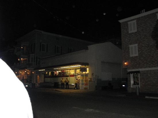 Avalon, CA: A few Orbs we captured on our tour -- just above Vons.