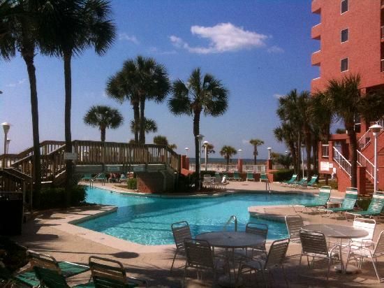 Perdido Beach Resort Pool Area
