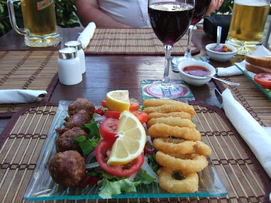 Sinatra's: Small selection of Twisted tapas