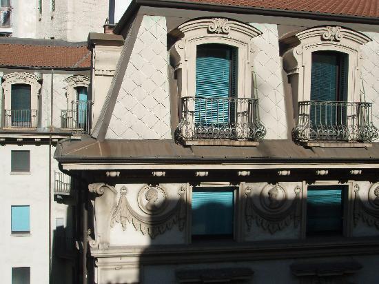 Le Petit Hotel: la vista dalla mia camera