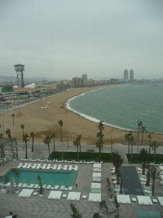 W Barcelona: View from room