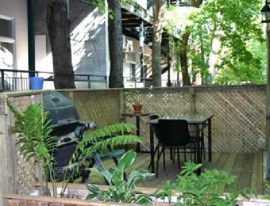 Le Gite: Terrasse