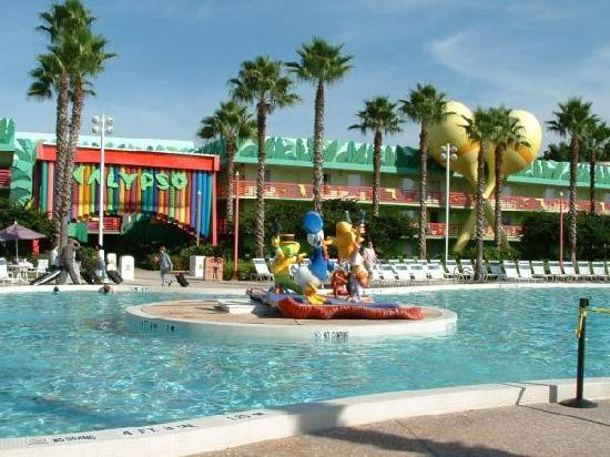 Disney's All-Star Music Resort: One of the 2 pools.