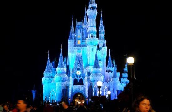 Disney's All-Star Music Resort: Castle in December