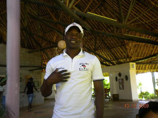Melinde, Quênia: Ligabue, guida turistica.