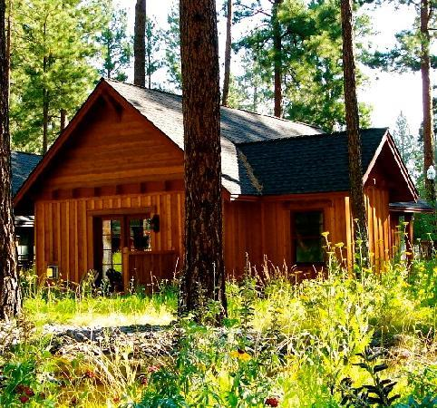 Five Pine Lodge & Spa: Caboose Cabin