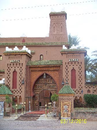 Palais Asmaa: Front of complex