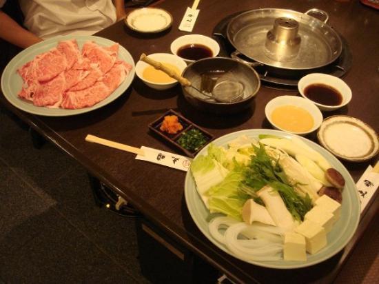 Hida Beef Shabu Shabu in Takayama