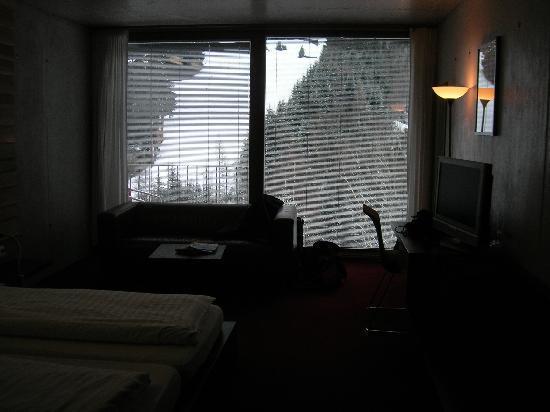 Hotel Lux Alpinae: las vistas desde la habitación