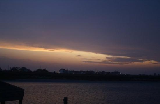 Isla del Padre Sur, TX: end of another beautiful day in paradise
