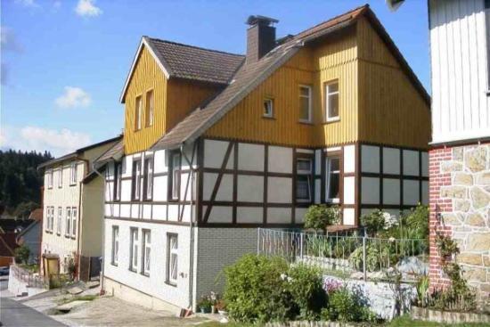 Onze woning in Tanne / Harz (zomer)