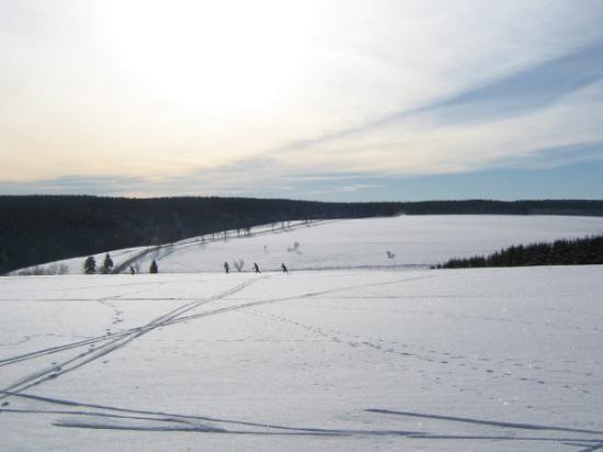 Skiën in Tanne / Harz
