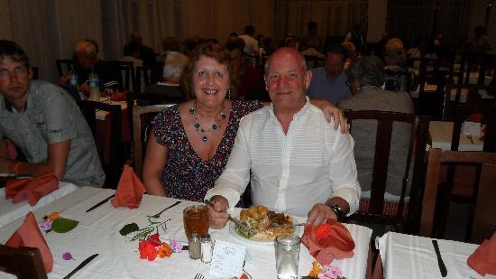 Hotel Liberty Resort: Keith's birthday celebration