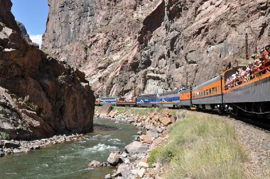 Canon City, Колорадо: Royal Gorge Route Railroad