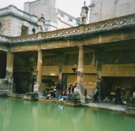 Museum for romerske bad: Roman baths at Bath, England - 2004