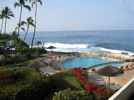 Royal Kona Resort: View from our room.