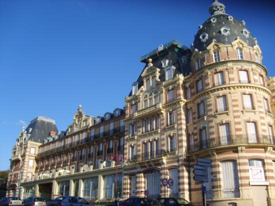 Houlgate, Francia: Grand Hôtel, 19-09-07