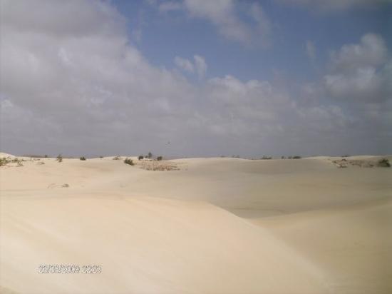 Boa Vista, Kapp Verde: Il deserto