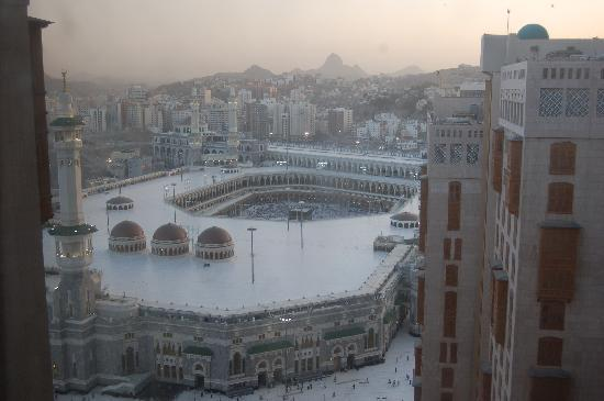 Hilton Makkah: View from our room