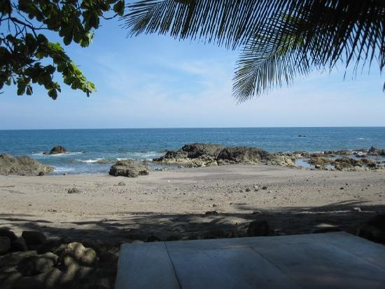 Playa de los Artistas: The view from our table