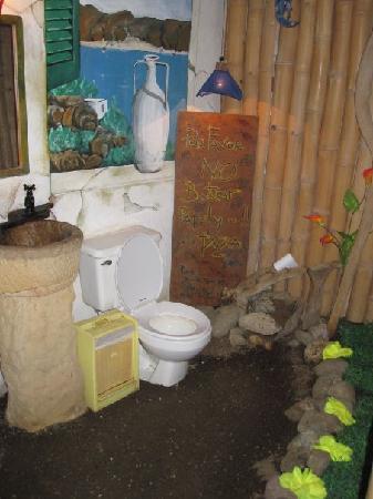 Playa de los Artistas: what a toilet !!