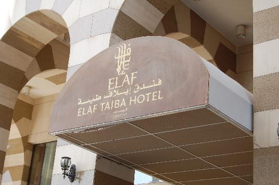 Elaf Taiba Hotel: Our hotel