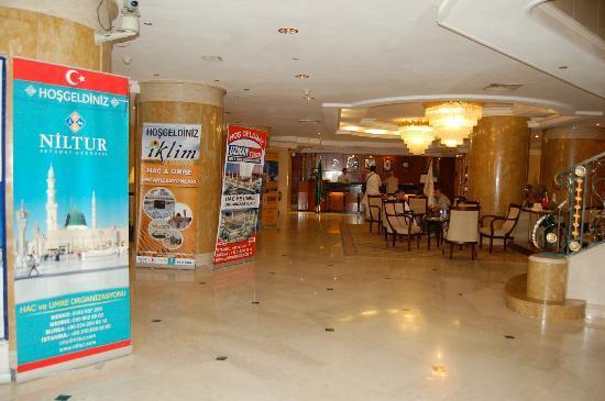 Elaf Taiba Hotel: Hotel lobby