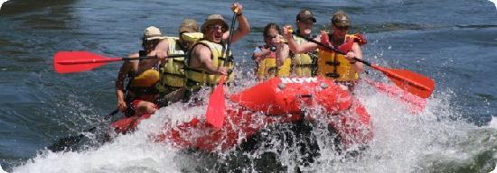 ROW Adventure Center : Devil's Toenail...fun Class III rapid!