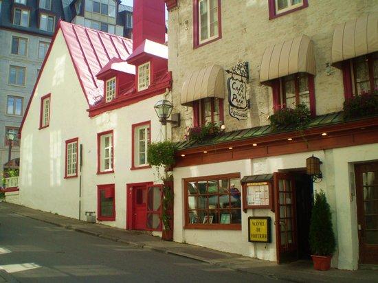 Cafe De La Paix Quebec City