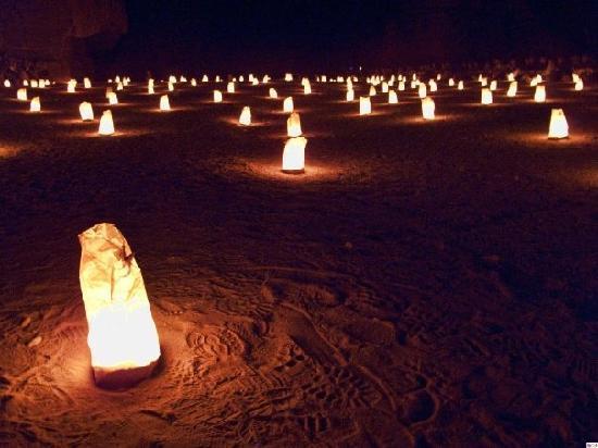 Petra - Wadi Musa, Jordan: Petra by Night