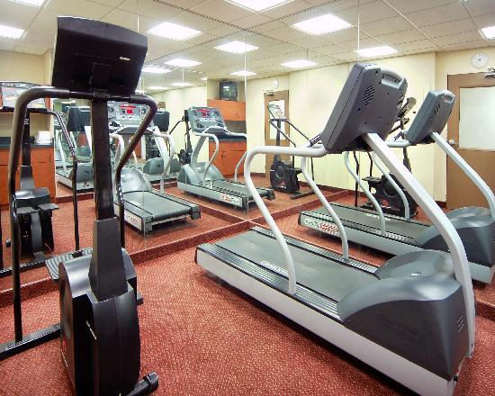Detroit Regency Hotel : Complimentary Fitness Room
