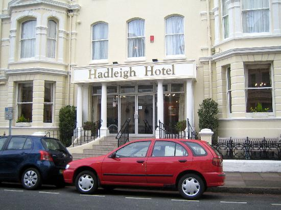Hadleigh Hotel: Smart  Frontage