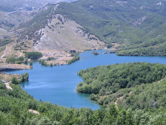 Cervera de Pisuerga, Spain: Vistas desde la habitacion