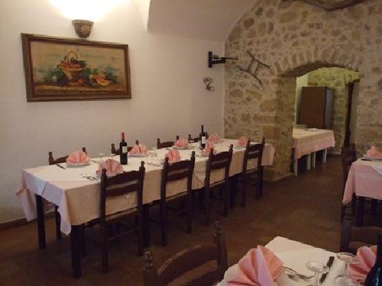 Hotel Morgantina Aidone : Ristorante