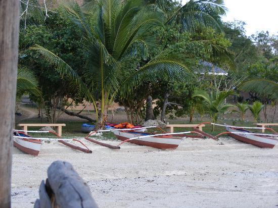 Majika's Island Resort: beach