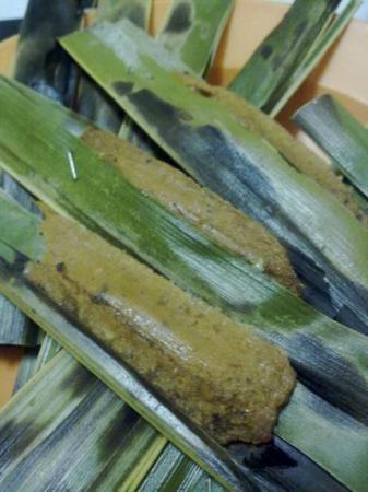 Tanjung Pinang, Endonezya: Psst,.....dipanasin dulu sebelum dimakan