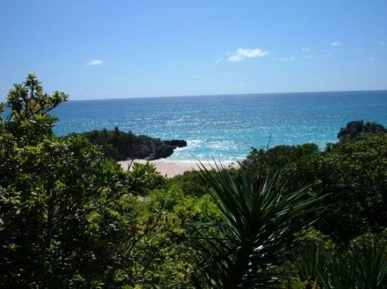 Hamilton, Bermudas: South Shore beach - Bermuda