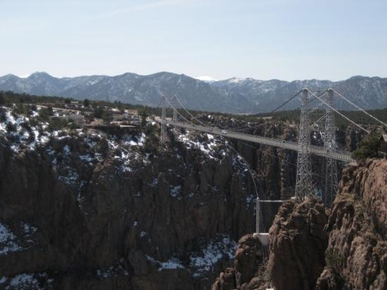 Royal Gorge Bridge and Park: The Royal Gorge Bridge is a tourist attraction near Cañon City, Colorado, within a 360 acre (1.5