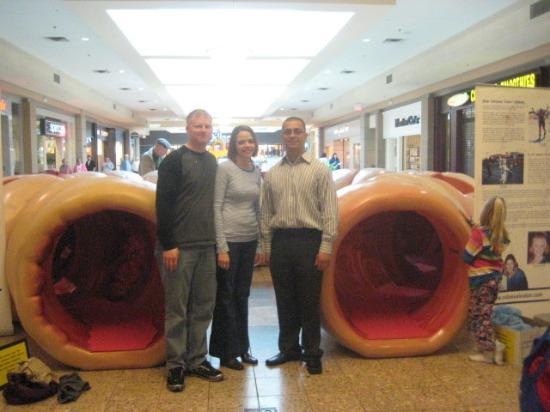 Evansville, IN: Josh, Tabitha (survivor), with Dr. Arruffat...