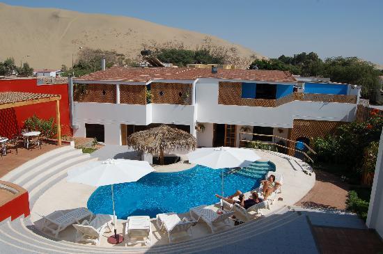 Hotel Villa Jazmin: Blick auf Pool