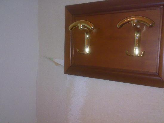 Hotel Bel Soggiorno : Carta da parati staccata